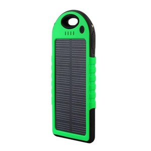 Solar Power Bank Charger 10000 mAh - Black & G ...