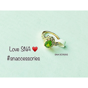 Ring for Women SNA SCR25G Gold