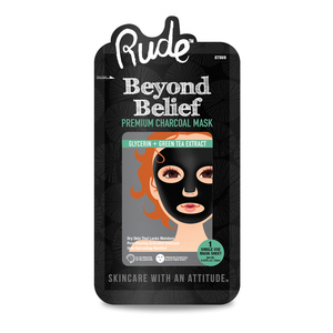 Rude Cosmetics Beyond Belief Charcoal Face Mask