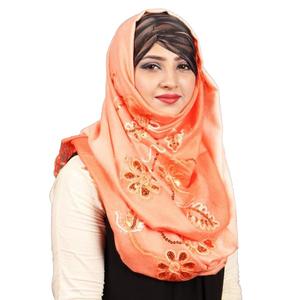 Pashmina Hijab For Women Pm012 Orange