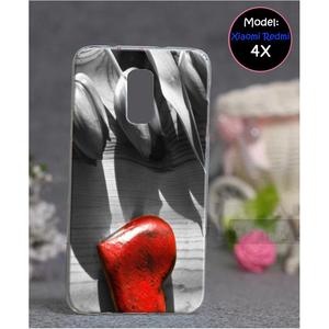 Xiaomi Redmi 4X Heart Style 3 Mobile Cover Multi Color