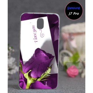 Samsung J7 Pro Love Cover SAA-2489 Purple