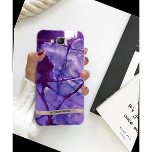 Samsung J7 2015 Soft Mobile Case Purple