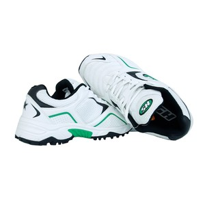 Gripper Cricket Shoes For Men White and Green