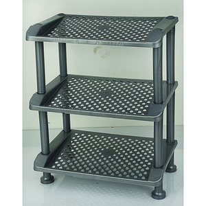 Shoe Rack Ed-02 Silver