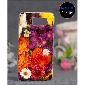 Samsung S7 Edge Floral Style 6 Mobile Back Cover Multi Color