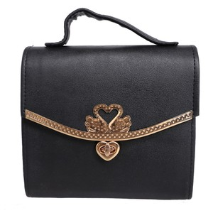 Milano Mall Ladies Fashionable Handbag Bag-007 Bla ...