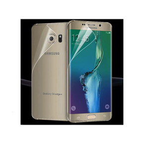 Front & Back Jelly Protector for Samsung S6 Edge Transparent