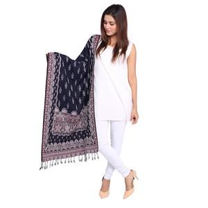 Misbah's Style Pashmina Shawl for Women SH0017 Nav ...