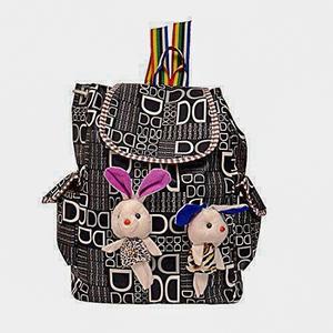 Girls School Bag Multicolor