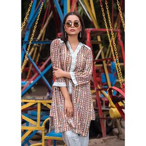 Sitara Studio 2 Pcs Unstitched Sapna Lawn Collection 6137 A Multicolor