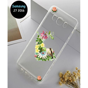 Samsung J7 2016 Cover Multi Fancy SA-4135 Transparent