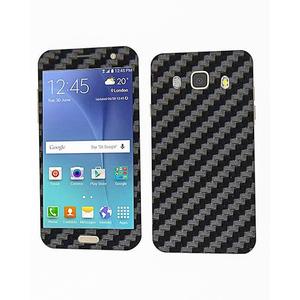 Samsung Galaxy J5 2016 Carbon Fiber Texture Mobile Skin Black