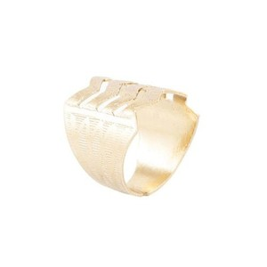 Challa Ring for Unisex J112 Silver
