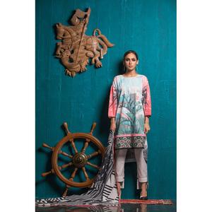 Oaks 3 Pcs Embroidered Unstitched Suit OWCHE3P-3244-B Multicolor