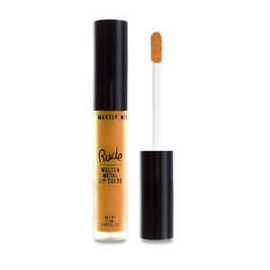 Rude Cosmetics Molten Metal Lip Color Spontaneous Combustion
