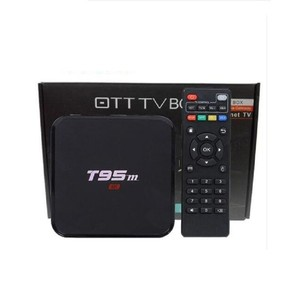 Android Smart TV Box T95M Black