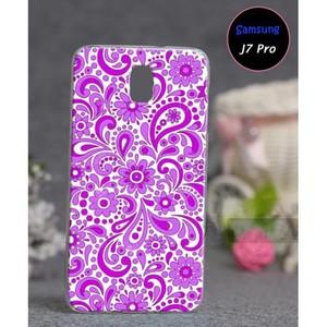 Samsung J7 Pro Soft Fancy Cover SA-5575 Purple