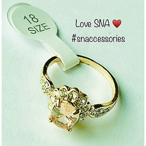 Ring for Women SNA SCR25C Gold