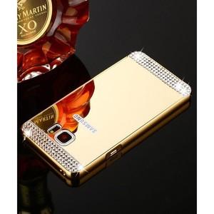 Samsung S7 Edge Mobile Cover SA-1663 Golden