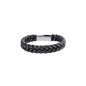 Julke Marcus Leather Bracelet for Men JUL-414 Black