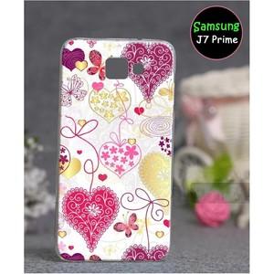 Samsung J7 Prime Love Cover SAA-1724 Pink