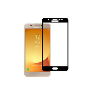 Glass Protector 5D Tempered Glass (Full Glue) For Samsung J7 Max Black