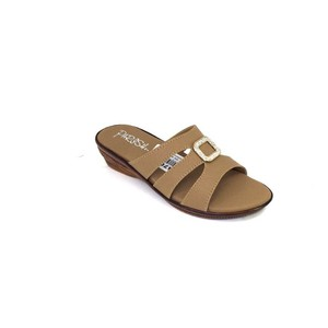 Parish Footwear Slippers For Women AA476 Brown