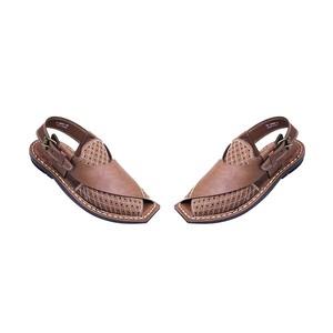 Xarasoft Peshawari Sandals For Men L471-P5602 Tan