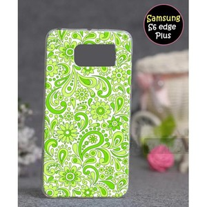 Samsung S6 Edge Plus Fancy Cover SA-5376 Green