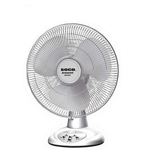 Sogo JPN-676 Rechargeable Stand Fan 7000 mAh White