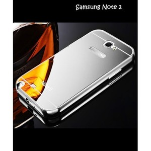 Samsung Note 2 Mobile Cover Luxury SA-2525 Silver