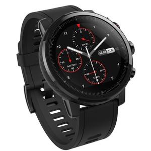 Amazfit Stratos Multisport GPS Smartwatch Sapphire Glass Edition Black