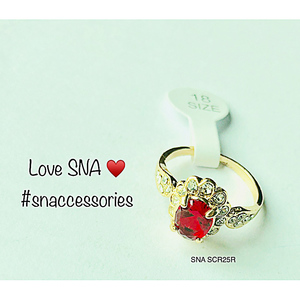 Ring for Women SNA SCR25R Gold