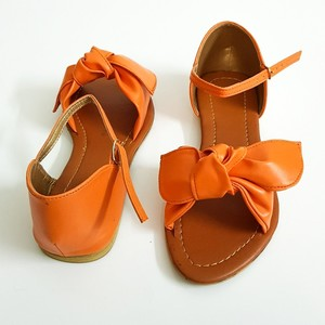 Flat Sandals for Women WI134 - Orange
