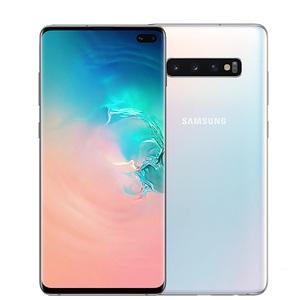 "Samsung Galaxy S10 Plus Display 6.4"", CPU Octa-core, Smartphone Ceramic White"