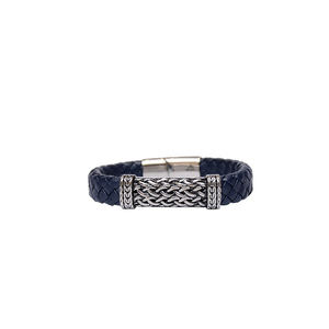 Julke Steven Leather Bracelet for Men JUL-421 Blue