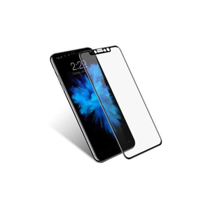 5D Tempered Glass Protector for iPhone X Black