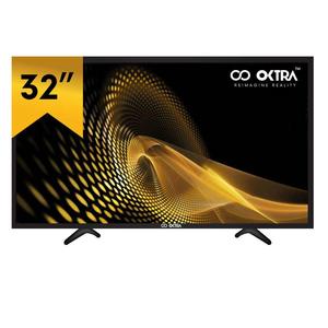 Oktra 32 Inch HD Ready LED TV Black