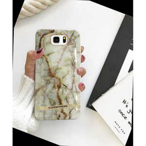 Samsung S6 Edge Marble Style 4 Mobile Cover Multi Color
