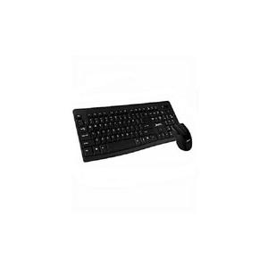 Wireless Keyboard Mouse Combo Ws1100 Black