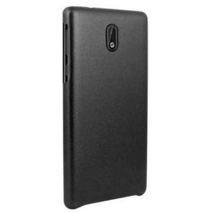 Leather Back Cover For Nokia 5 Black