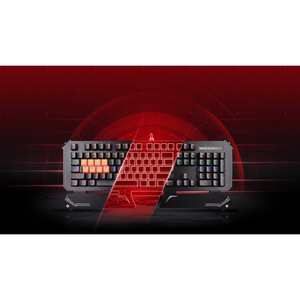 Bloody B740S Full Light Strike Gaming Mechanical Keyboard Silver & Black