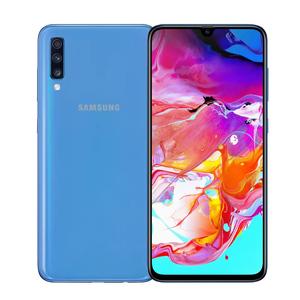 """Samsung Galaxy A70 Screen 6.7"""", 6GB RAM, 128GB ROM, CPU Octa-core, Smartphone Blue"""