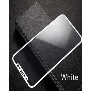 Baseus 3D iPhone X Glass Protector White
