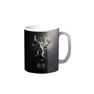 Hear Me Roar - Lannister Game of Thrones Coffee & Tea Mug BB216 Black