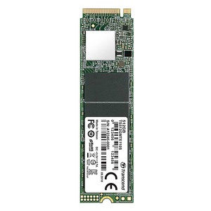 Transcend TS512GMTE110S 512GB NVMe PCIe Gen3 x4 80mm M.2 Solid State Drive