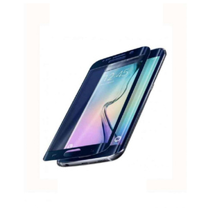 Tempered Glass for Sumsung S6 Edge Blue