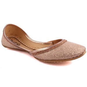 Women HERAS Indian Khussa Slippers - L29182 - Peach