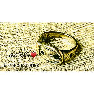 Ring for Women SNA CR034 Gold